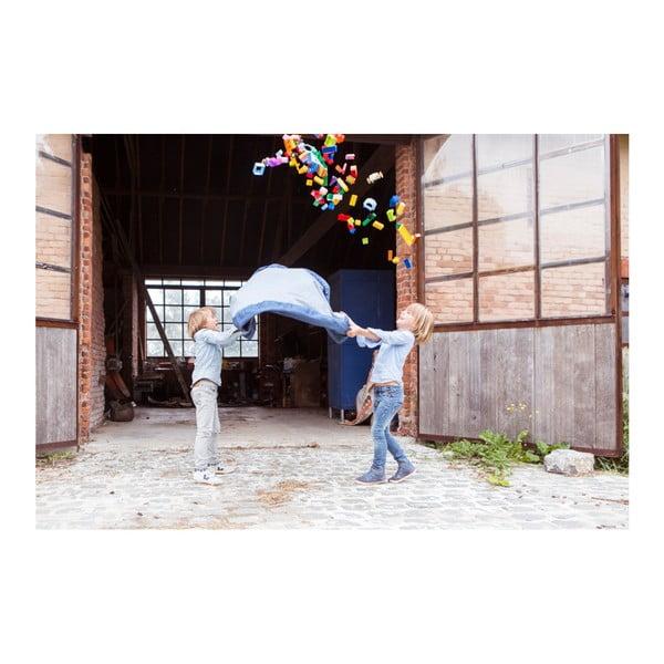 Hrací podložka a pytel na hračky v jednom Play & Go Clasic Jeans