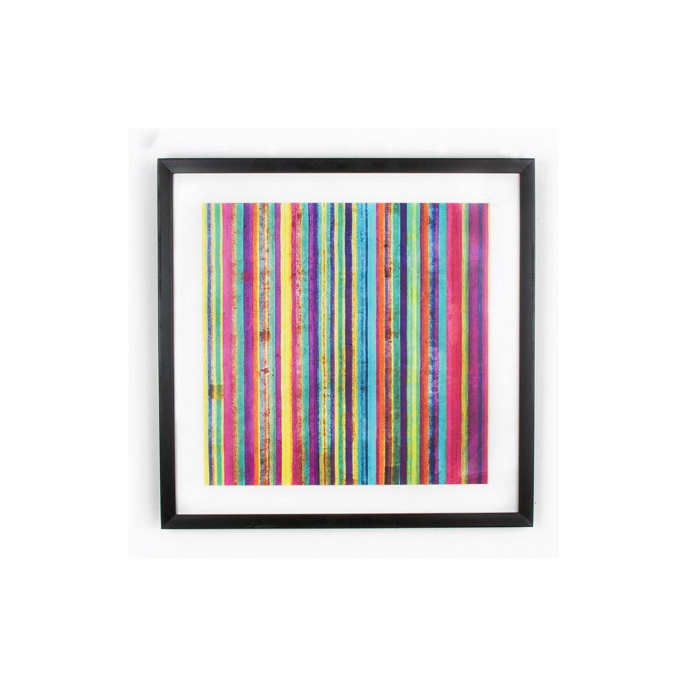Obraz Graham & Brown Neon Stripe,50x50cm