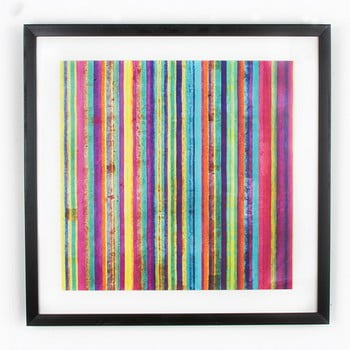 Tablou Graham & Brown Neon Stripe, 50 x 50 cm imagine