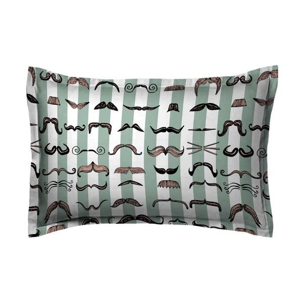 Povlak na polštář Hipster Moustache, 70x90 cm