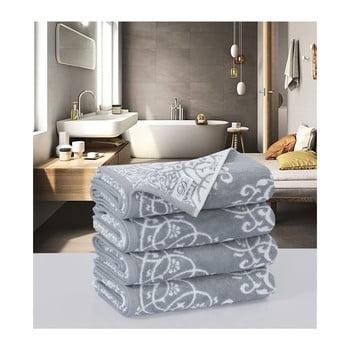 Set 4 prosoape din bumbac Muller Textiels Preyo, 50 x 100 cm