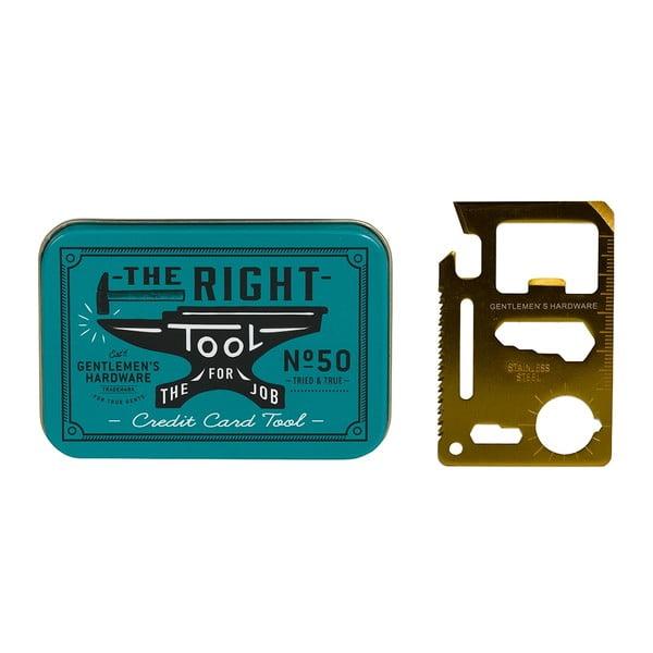 Multifunkční nástroj ve velikosti kreditky Gentlemen's Hardware
