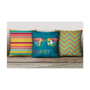 Sada 3 povlaků na polštáře Decorative Cushion Set Calliento