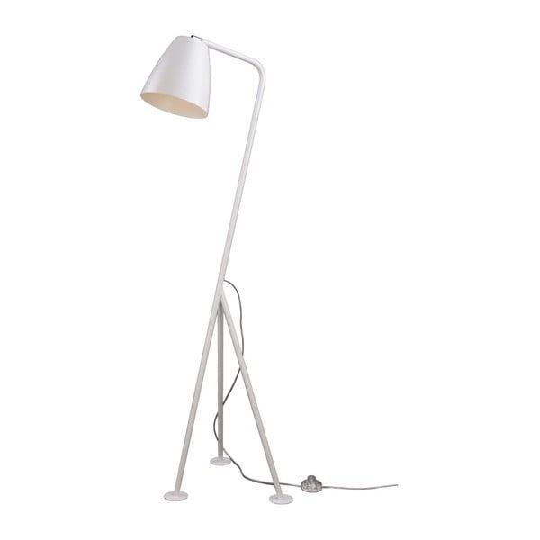 Bílá stojací lampa Nørdifra Omega
