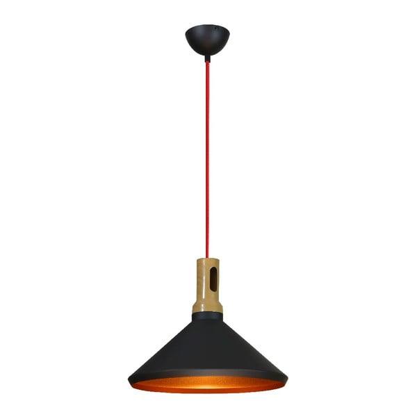 Závěsné světlo Robinson II, černé