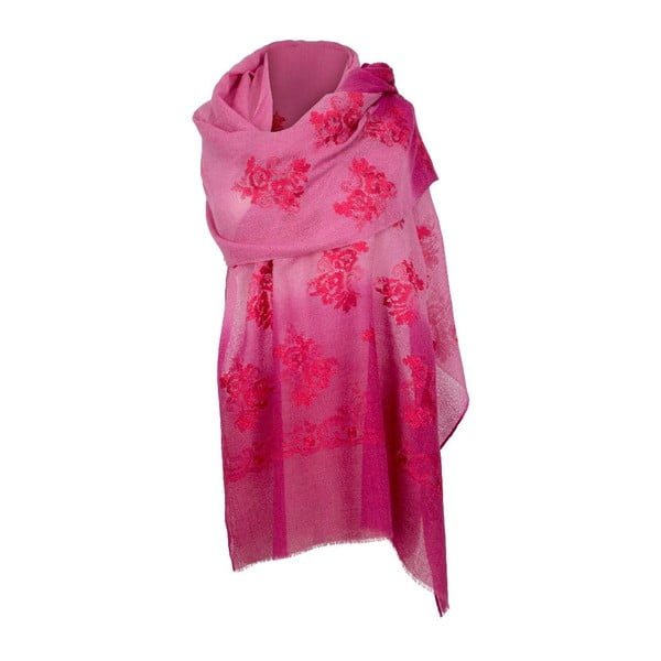 Vlněný šátek Shirin Sehan Rosana Sweet
