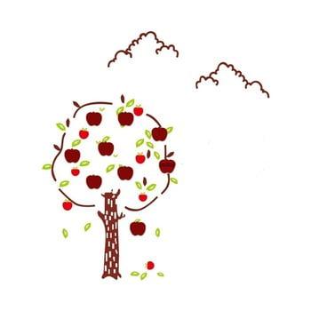 Autocolant de perete Mauro Ferretti Apples 120 x 125 cm