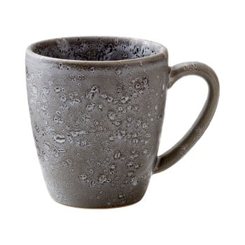 Cană din gresie ceramică Bitz Basics Grey, 190 ml, gri
