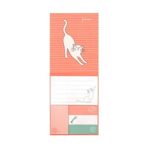 Sada 30 lepících štítků Santoro London Felines