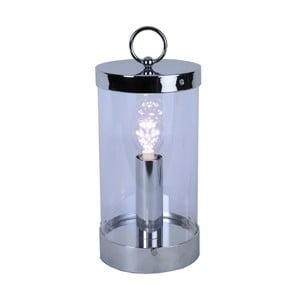 LED lucerna Candlestick 36 cm, stříbrná