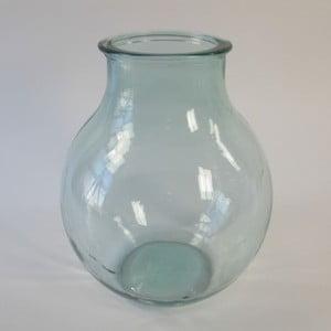 Váza Recycle Glass Green, 29x29x38 cm