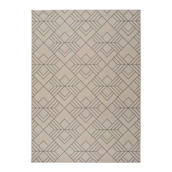 Béžový venkovní koberec Universal Silvana Caretto, 80x150cm