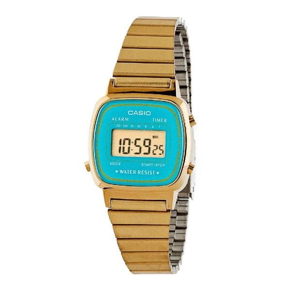Dámské hodinky Casio Gold/Blue