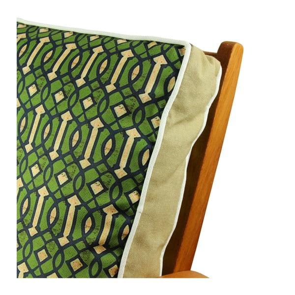 Pernă pentru scaun Gravel Greenio, 42x42cm,cuumplutură