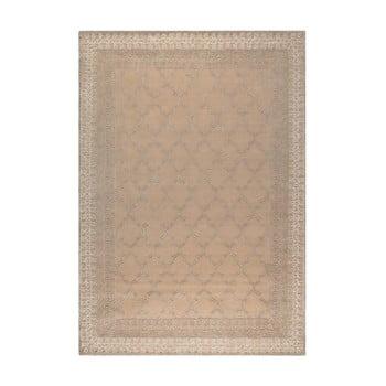 Covor artizanal Dutchbone Kasba, 170 x 240 cm, bej de la Dutchbone