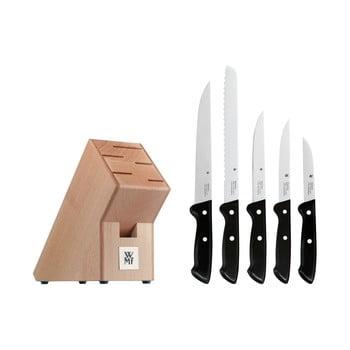 Set 5 cuțite din oțel inoxidabil cu suport WMF Cromargan® Classic