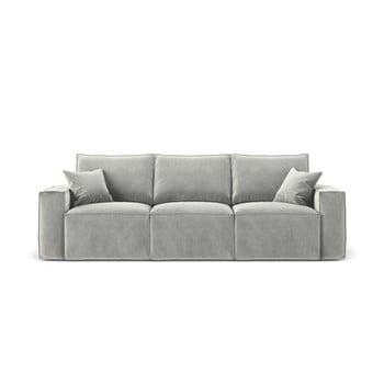 Canapea cu 3 locuri Cosmopolitan Design Florida, gri deschis