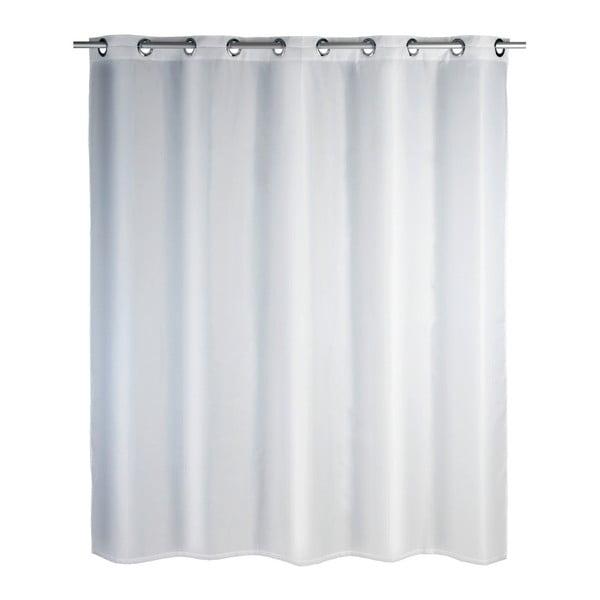 Biely sprchový záves Wenko Comfort Flex, 180×200 cm