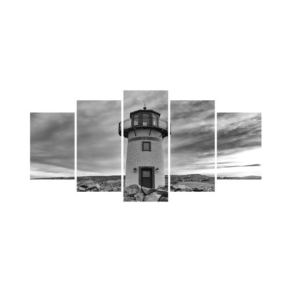 Vícedílný obraz Black&White no. 31, 100x50 cm
