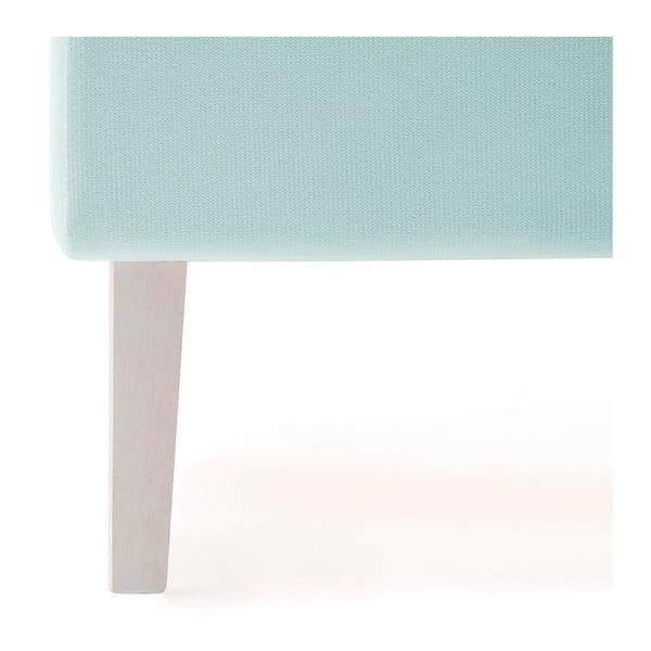 Dětská modrá postel PumPim Mia, 200x90cm