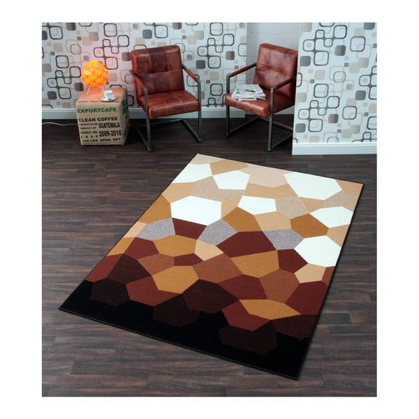 Karamelově hnědý koberec Prime Pile Abstract, 80x150 cm
