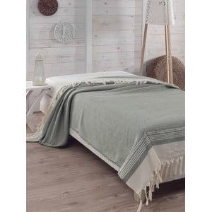 Přehoz přes postel Hasir Green, 200x240 cm
