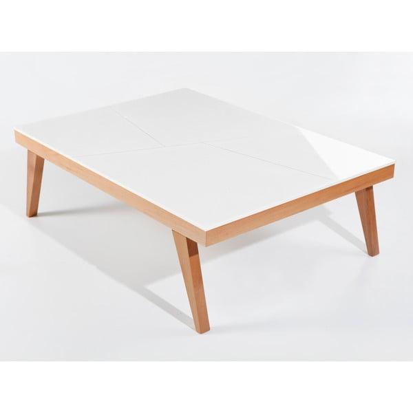 Konferenční stolek Panama White