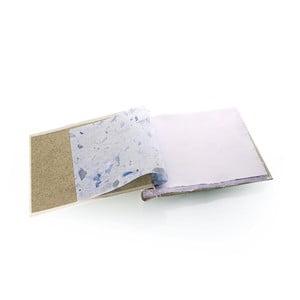 Fotoalbum Metallic, vanilla - modrá