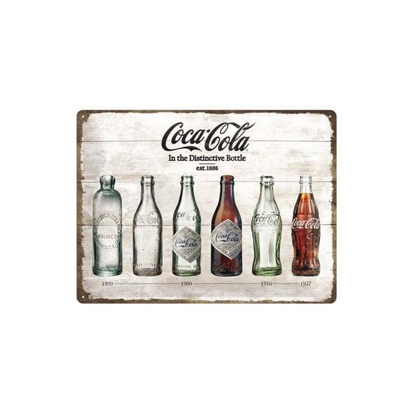 Plechová cedule Coke, 30x40 cm