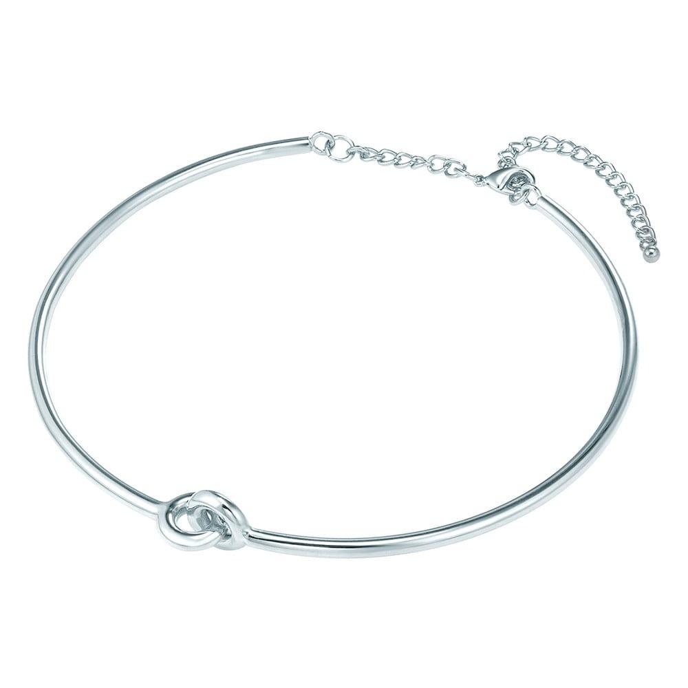 Dámský náhrdelník stříbrné barvy Tassioni Triples