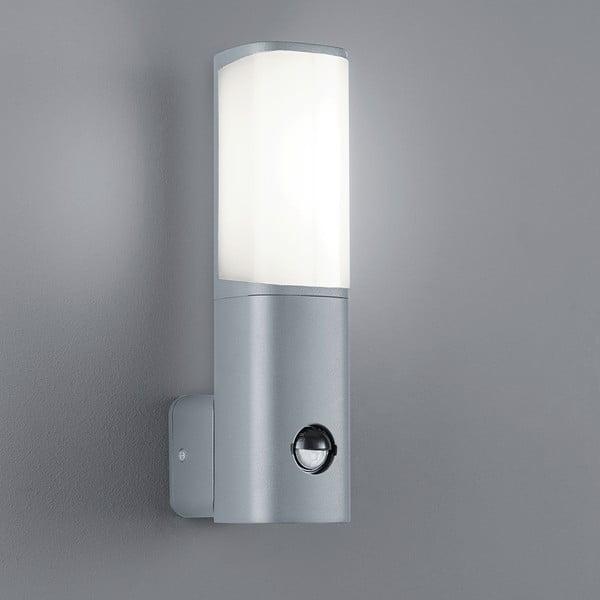 Venkovní nástěnné světlo s pohybovým čidlem Ticino Titanium, 27 cm