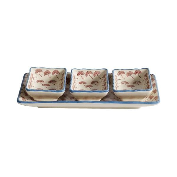 Servírovaćí misky s podnosem Blossom Dandelion
