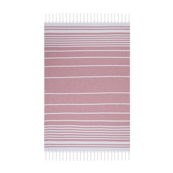 Prosop de plajă Fouta 170 x 100 cm roz