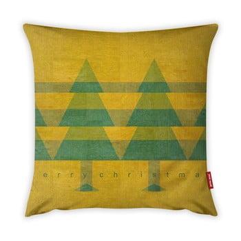 Față de pernă Vitaus Vintage Trees, 43 x 43 cm imagine