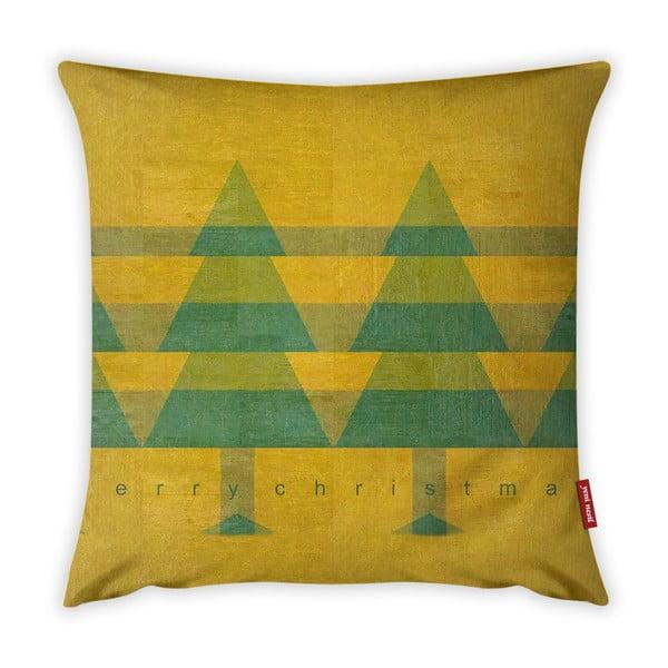 Față de pernă Vitaus Vintage Trees, 43 x 43 cm
