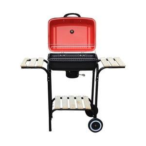 Červený zahradní gril Crido Consulting Barbecue