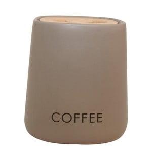Dóza na kávu Cubic Matt Taupe