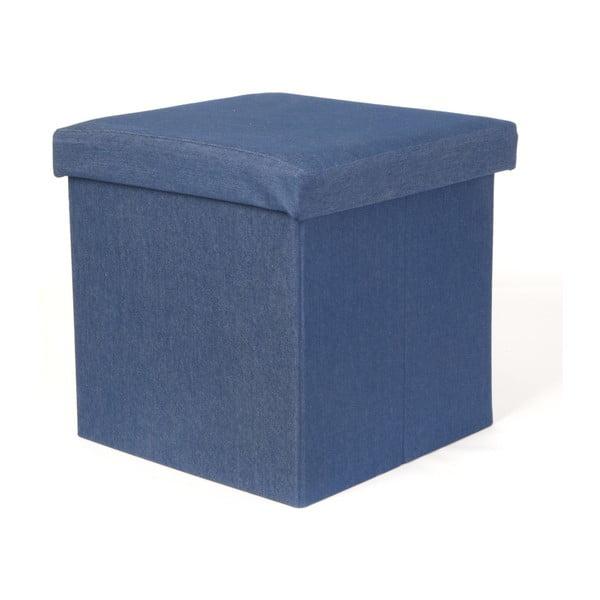Scăunel PT Denim Blue, albastru