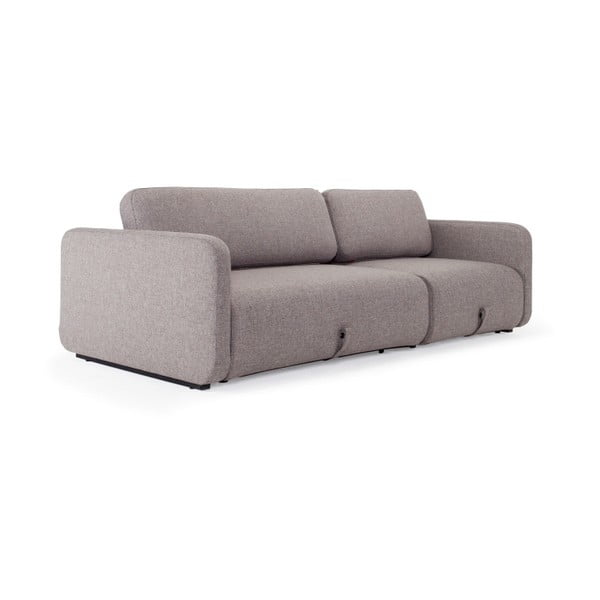 Szara sofa rozkładana Innovation Vogan Mixed Dance Grey