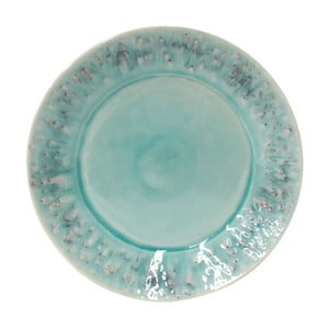 Modrý kameninový talíř Costa Nova Madeira, ⌀27cm