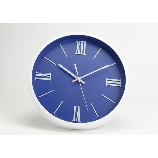 Hodiny Modern Blue, 36 cm