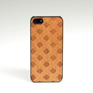 Dřevěný kryt na iPhone 5, Checker design