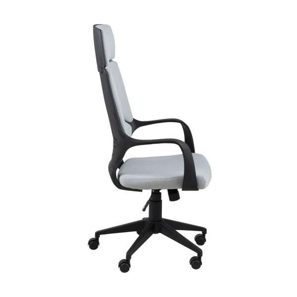 Světle šedá kancelářská židle Actona Dubnium