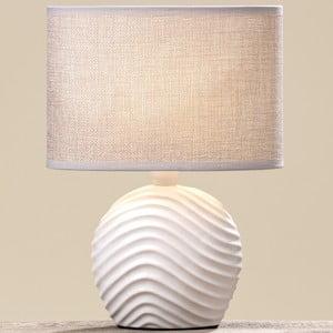 Stolní keramická lampa Boltze Wave
