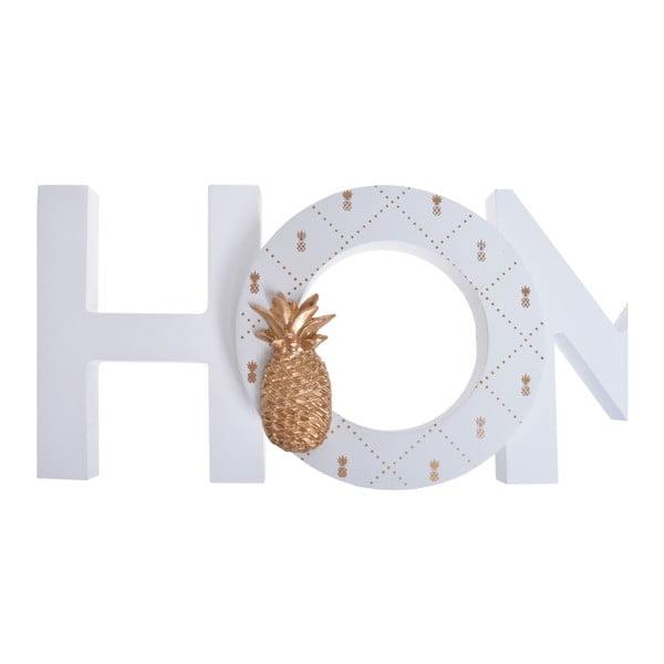 Decorațiune din lemn Ewax Home Ananas