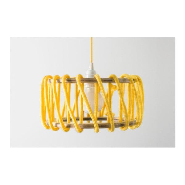 Žluté stropní svítidlo EMKO Macaron, ø 45cm