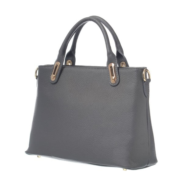 Kožená kabelka Mood Glam Grey