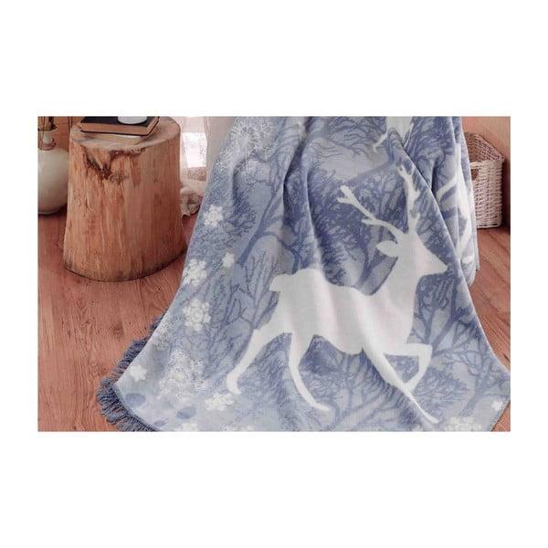 Deka s příměsí bavlny Aksu Ruby, 200 x 150 cm