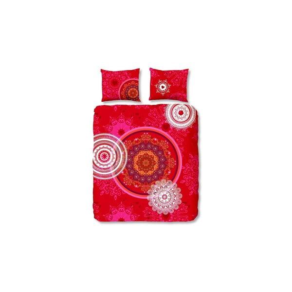 Povlečení Mandala Red, 200x200 cm