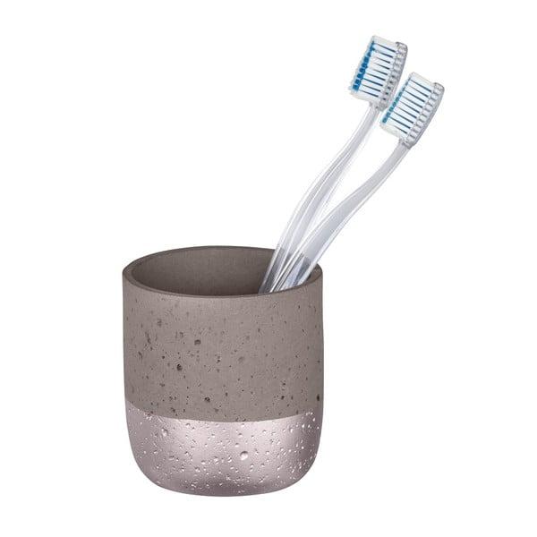 Mauve szürke beton fogkefetartó pohár - Wenko